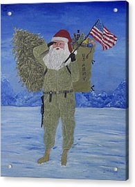 Christmas In Afghanistan  Acrylic Print