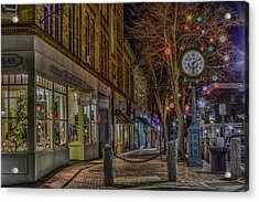 Christmas In Bath Acrylic Print