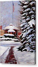 Christmas In Chagrin Falls Acrylic Print