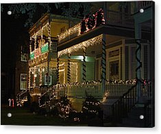 Christmas In Charleston Acrylic Print by Richard Marcus