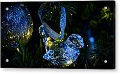 Christmas In Glass Acrylic Print