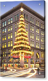 Christmas In Pittsburgh  Acrylic Print