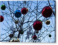 Christmas Is Looking Up This Year Acrylic Print by Bill Cannon