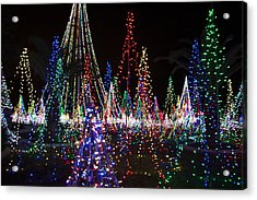 Christmas Lights 3 Acrylic Print