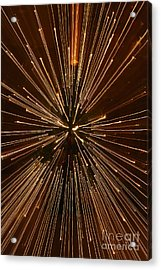 Christmas Lights Acrylic Print by Birgit Tyrrell
