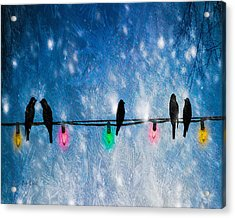 Christmas Lights Acrylic Print