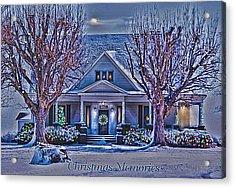 Christmas Memories Acrylic Print by Bonnie Willis