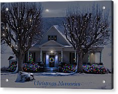 Christmas Memories2 Acrylic Print by Bonnie Willis