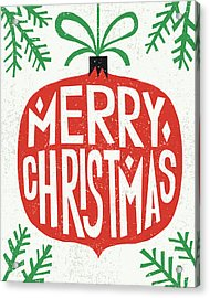 Christmas Acrylic Print by Michael Mullan