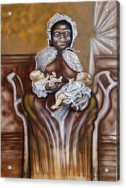Christmas Milk Original Acrylic Print