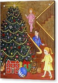 Christmas Morning Acrylic Print by Linda Mears