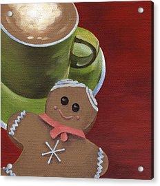 Christmas Morning Acrylic Print by Natasha Denger