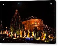 Acrylic Print featuring the photograph Christmas Nativity Scene by Ram Vasudev