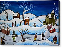 Christmas Night Acrylic Print