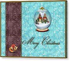 Christmas Card 13 Acrylic Print