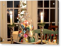 Christmas Ornaments Acrylic Print