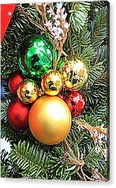 Christmas Ornaments Acrylic Print