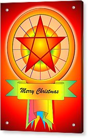Christmas Parol Acrylic Print