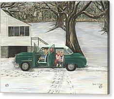 Christmas Past Acrylic Print