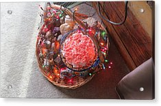 Christmas Pie Acrylic Print by Diane Mitchell
