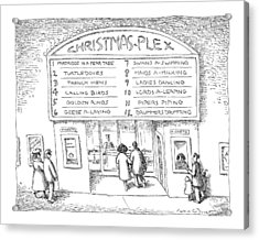 Christmas-plex Acrylic Print
