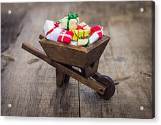 Christmas Presents Acrylic Print by Aged Pixel