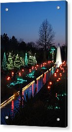 Christmas Reflections Acrylic Print