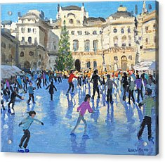 Christmas Somerset House Acrylic Print