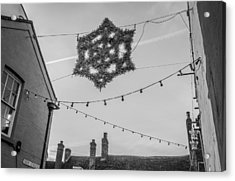 Acrylic Print featuring the photograph Christmas Star by David Isaacson