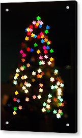 Christmas Stars Acrylic Print by Mike Lee