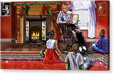 Christmas Story Acrylic Print by Reggie Duffie