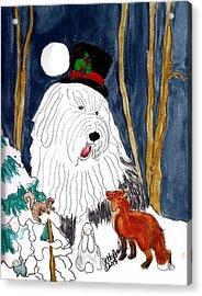 Christmas Story Teller Acrylic Print