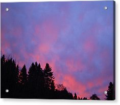 Christmas Sunrise Acrylic Print by Lisa Rose Musselwhite