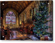 Christmas Time Acrylic Print by Adrian Evans