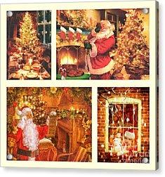 Christmas Time Acrylic Print by Mo T