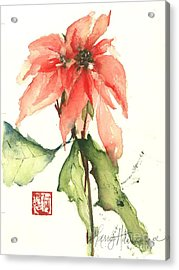 Christmas Tradition Acrylic Print by Sherry Harradence