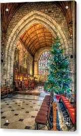 Christmas Tree Acrylic Print by Adrian Evans