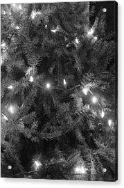Christmas Tree Acrylic Print by Anastasia Konn