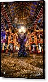 Christmas Tree Leadenhall London I Acrylic Print