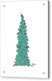 Christmas Tree 1 Acrylic Print