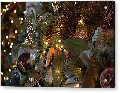 Christmas Tree Splendor Acrylic Print