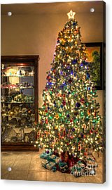 Christmas Tree Time Acrylic Print