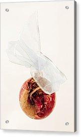 Christmas Decoration Decoupaged Acrylic Print by Vizual Studio