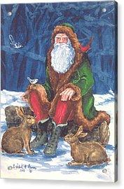 Christmas Woodland Series Acrylic Print