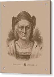 Christopher Columbus Acrylic Print by War Is Hell Store