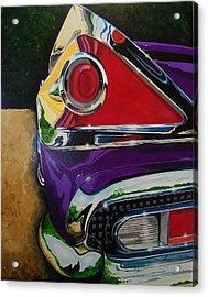 Chrome And Color Acrylic Print