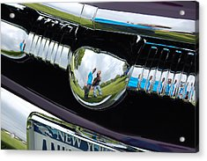 Chrome Reflection Acrylic Print