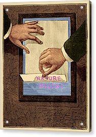 Chromograph Illustration Acrylic Print