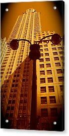 Rockefeller Building In Manhattan Acrylic Print
