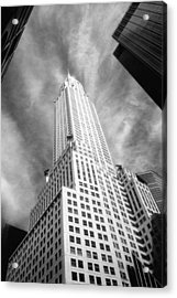 Chrysler Building Infrared Acrylic Print